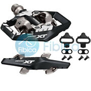 New 2020 Shimano Deore Xt Spd Trail Pd M8120 Mtb Pedals With Cleats
