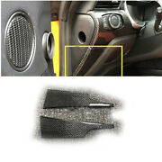 Carbon Fiber Replace Middle Console Both Side Strip Trim For Ford Mustang 15-20