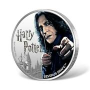 2020 Fiji Harry Potter Severus Snape 1 Oz 999 Silver Proof Coin - 2000 Made