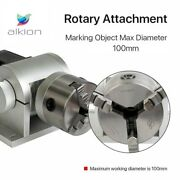 Chuck Rotary Shaft Rotating Device For Fiber Laser Marking Engraver Machine100mm