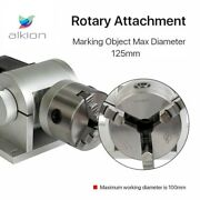Chuck Rotary Shaft Rotating Device For Fiber Laser Marking Engraver Machine125mm