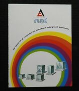 1970s Allis-chalmers Commercial Transformers Electrical Engineering Brochure