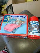 1984 Gremlins Lunch Box And Thermos Aladdin Warner Broandrsquos Good Condition