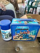 Masters Of The Universe Metal Lunchbox1983 Aladdin Industries -thermos