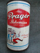 Vintage Atlas Prager Bohemian Flat Top Beer Can Chicago Il Very Good C-7
