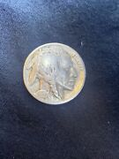 1927 Buffalo Indian Head Nickel And Cooper / No Mint Mark For Your Collection