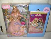 10581 Nrfb Mattel Barbie Princess And The Pauper Doll And Vhs Video Set