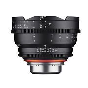 Xeen 14mm T3.1 Ultra Wide Angle Pro Cinema Lens Pl
