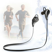 V8 Sports In-ear Double Bluetooth Earphones Earbuds For Gym Running Working Out