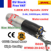 【fra】iso20 Atc 1.8kw 220v Spindle Motor Water Cooled Cnc Router Mill Machine Kit