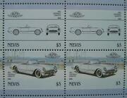 1953 Chevrolet Corvette Car 50-stamp Sheet / Auto 100 Leaders Of The World