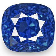 Grs Certified Sri Lanka Blue Sapphire 1.04 Cts Natural Untreated Cushion