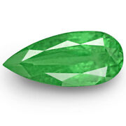 Colombia Emerald 2.78 Cts Natural Bright Green Pear