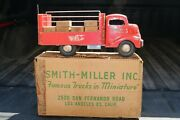 Smith Miller Smitty Toys Gmc Coke Coca-cola Delivery Truck - Pressed Steel - Usa