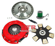 Xtr Stage 4 Clutch Kit And Light Flywheel For 2007-2009 Ford Mustang Shelby Gt500