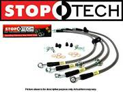 Stoptech Stainless Steel Front Set Brake Lines 91-99 Mitsubishi 3000gt Vr4 Turbo