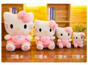 12 Cute Hello Kitty Pink Love Giant Huge Stuffed Plush Animal Toys Doll Gifts