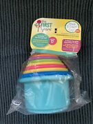 The First Years Stack Up Cup Toys   Pack Of 8