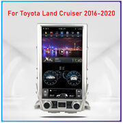 13.6 Android 9.0 Vertical Screen Gps Radio For Toyota Land Cruiser 2016-2020