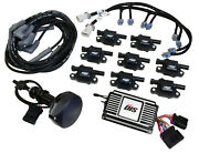 Msd 601523 Black Direct Ignition System Controller Kit S/block For Ford 289-302