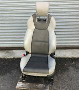 13-16 Hyundai Genesis Coupe Electric Front Left Seat Oem E