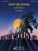 Into The Woods Musical Revised For Vocal Piano Sheet Music Lyrics 12 Songs Book