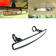 15x 2.5and039and039 Utv Rear View Race Convex Mirror Fit For Polaris Rzr800 Xp900 Xp1000