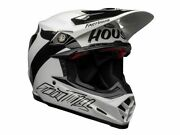 Bell Off Road Helmet Moto-9 Flex Fasthouse Newhall White And Black