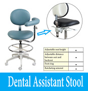 Classic Series Dental Assistant Stool Adjustable Seat Height And Tilt 2 Year Wrnty