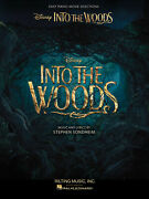 Into The Woods Disney Movie For Easy Piano Vocal Sheet Music 10 Songs Book