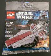 Lego Star Wars Andndash 30053 Republic Attack Cruiser Brand New In Sealed Polybag
