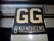 Ny Nyc Subway Roll Sign Gg Brooklyn 1939 Worlds Fair Special Queens Smith 9th St