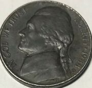 1988-d Black Jefferson Beautynickel Mint Error / Ddr On Monticello And One Cent.