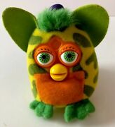 Mcdonaldandrsquos Furby Backpack Clip Yellow And Green With Orange Accents