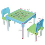 Kids Table And 2 Chairs Set For Boys Or Girls Toddler Toys Furniture Study Desk