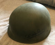 Donald Sutherland Hand Signed Autographed Us Military Helmet Liner