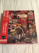 Springbok Coke Adds Life To Everything Nice 2000 Pc Puzzle Pzl9409 Complete Vint