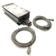 Danaher Vertical Positioner Z-axis 3mm Travel 7 1/8 X 15 3/4 W/stepper Motor