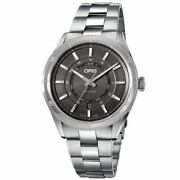 New Oris Artix Gt Day Date Grey Dial Menand039s Watch 01 735 7751 4153-07 8 21 87