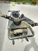 Exhaust Housing And Transom Bracket For A 25 Hp Johnson Outboard Motor 1970