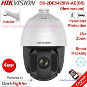 Hikvision Ds-2de5425iw-ae 4mp Darkfighter 25x Zoom Ptz Camera Auto-track Hi-poe