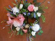 Wreath Birds Nest Floral Grape Vine Wreath Hand Designed And Created In The Usa