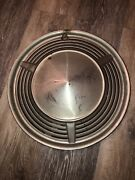 1 Vintage Ford Motor Company Dog Dish Hubcap Wheel Cover Cap Oem 13 1967-1976