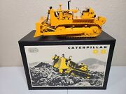 Caterpillar Cat D8h Dozer With Winch - Ccm Brass 124 Scale Model New