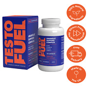 Testo Fuel - 1 Best Testosterone Test Booster For Men 120 Capsules - Buy Direct