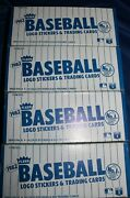 4 Box Lot 1982 Fleer Vending Baseball Box , 1,2,3 And 4 - From Our Case