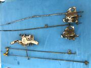 1968-1975 Corvette Convertible Tonneau Release Latches Cables And Handle Used