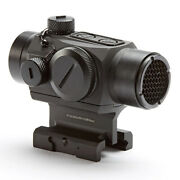 Hi-lux Mirco Red Dot Sight With Low Profile And Riser Mount Fits Picatinny Rails