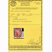 Genuine Scott 27 Used F-vf 1858 Brick Red Type-i Pf Cert Red Grid And Town Cancel