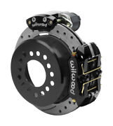 Wilwood Disc Brakes,rear,electronic Parking,big Ford New,2.50,11 Drilled,black